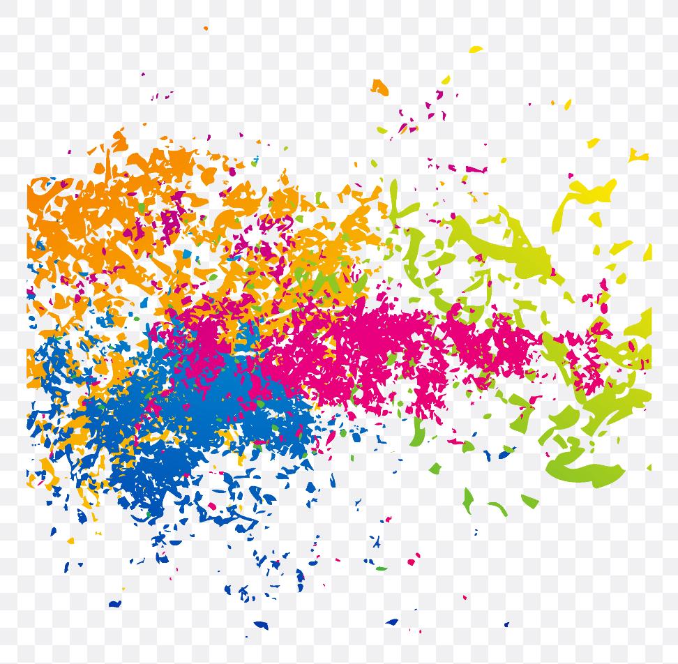 colour splash paint