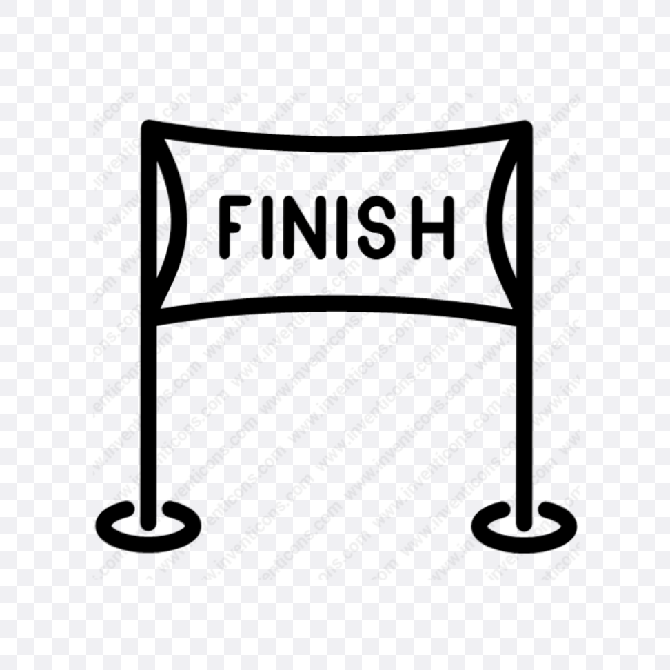 finish line race