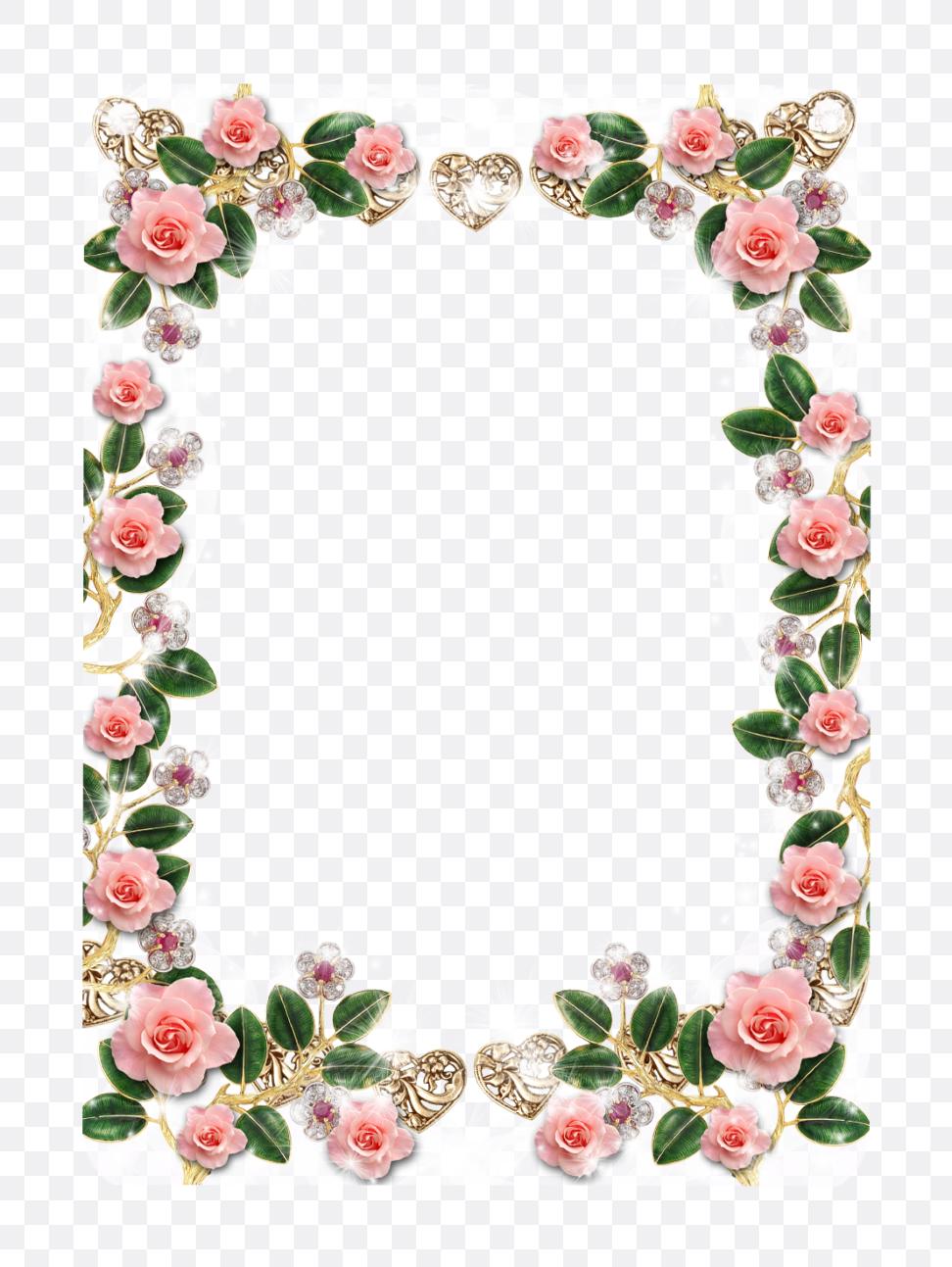 floral border designs