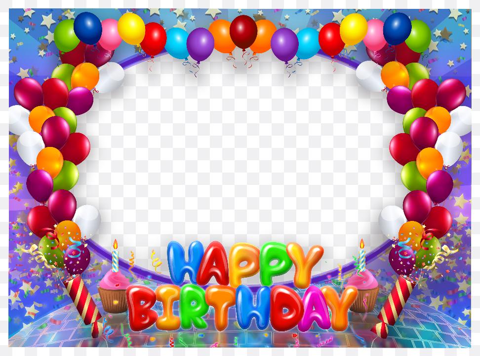 frame happy birthday